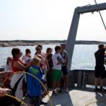 Filmning Kosterhavets djup, forskningsfartyg från Tjärnö Akvarium
